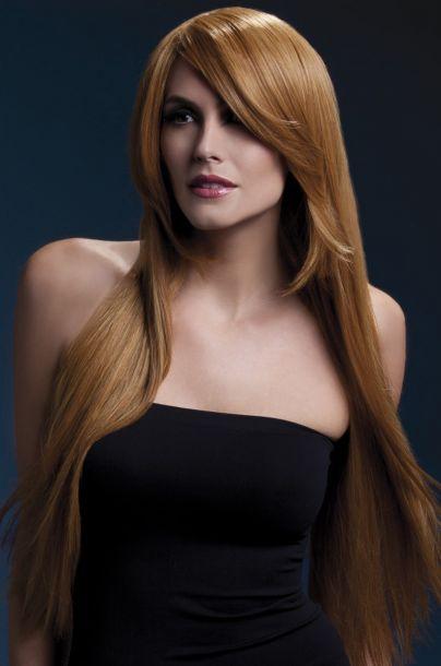 Longhair Wig AMBER - Auburn