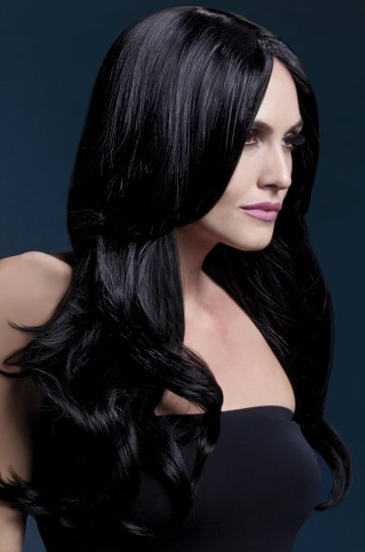 Longhair Wig KHLOE - Black