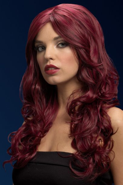 Longhair Wig NICOLE - Red Cherry*