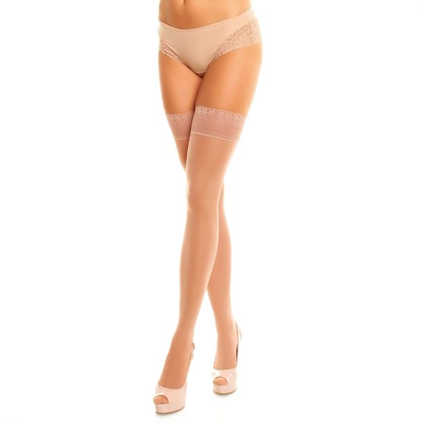 Hold Up Support Stockings VITAL 40 - Teint
