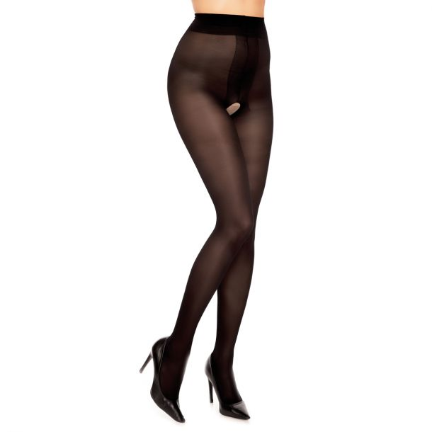 Tights OUVERT 40 - Black*