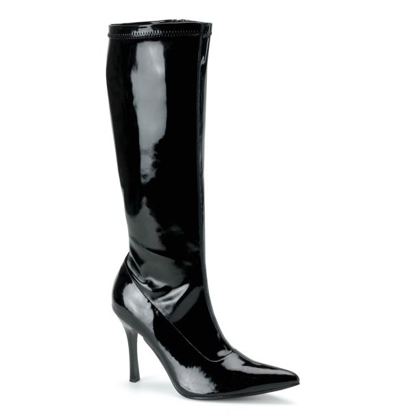 Knee Boot LUST-2000 - Patent black