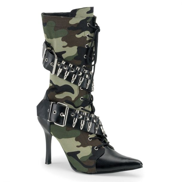 Ankle Boot MILITANT-128 : Camouflage