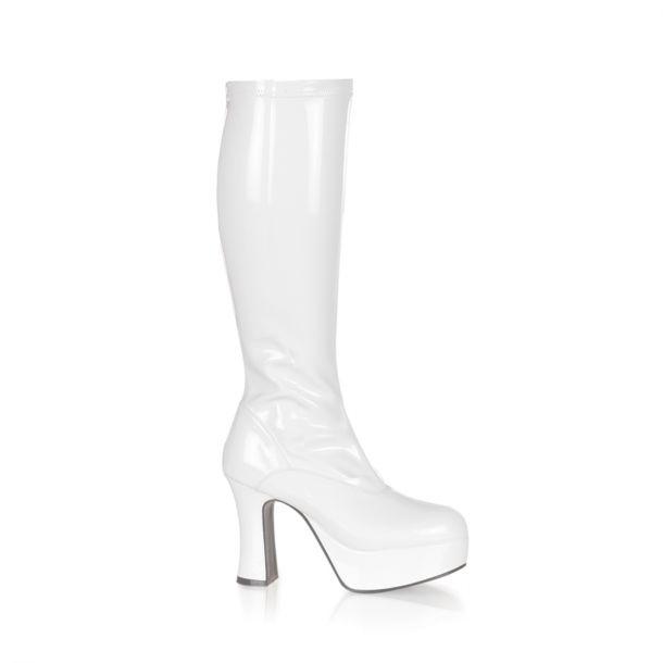 Platform Boots EXOTICA-2000 - White