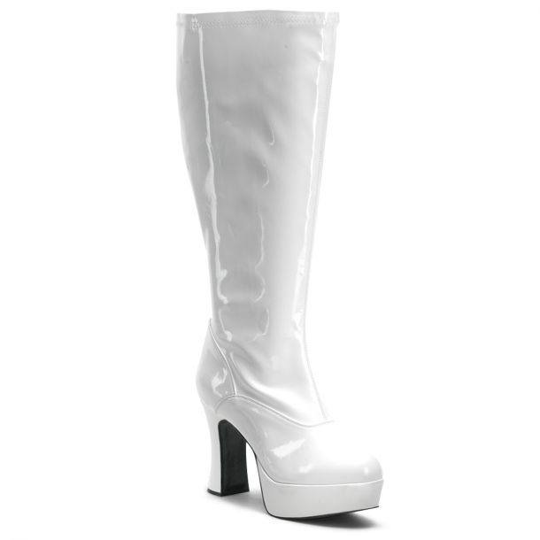 Platform Boots EXOTICA-2000X (Wide Shaft) - White