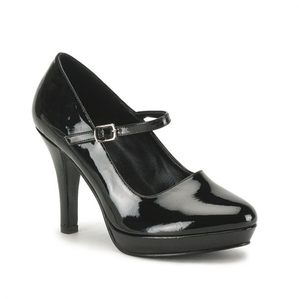 Mary Janes CONTESSA-50X (Wide) - Black