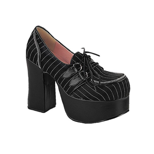 Platform shoes CHARADE-12 : Pinstripe