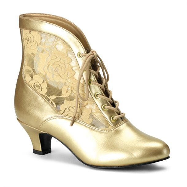 Ankle Boots DAME-05 - Gold