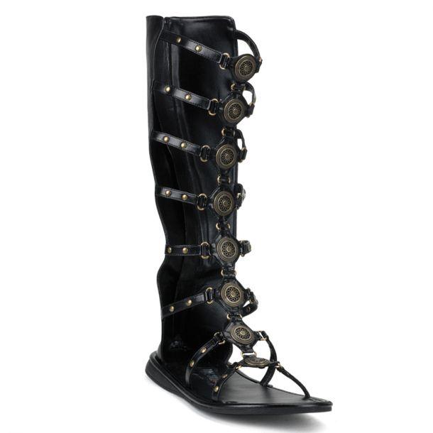 Roman sandal ROMAN-15 - Black