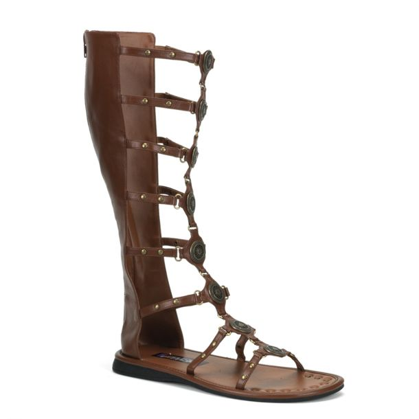 Roman sandal ROMAN-15 - Brown