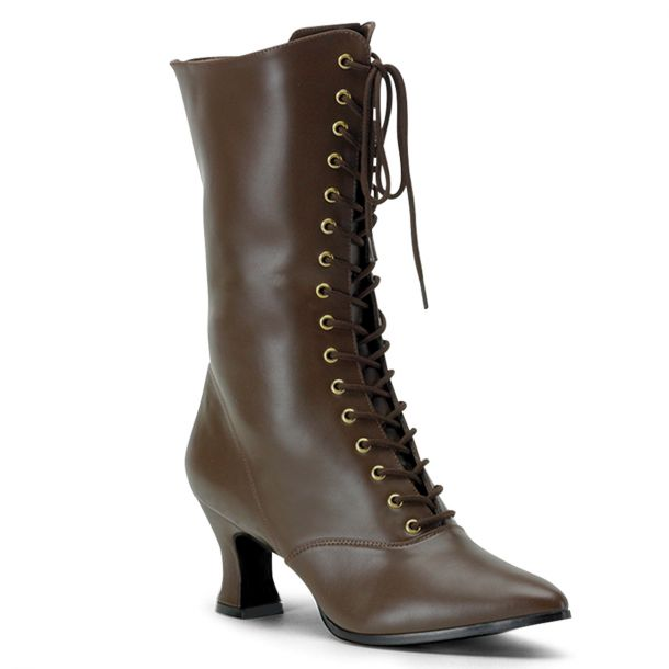 Ankle Boots VICTORIAN-120 - Brown
