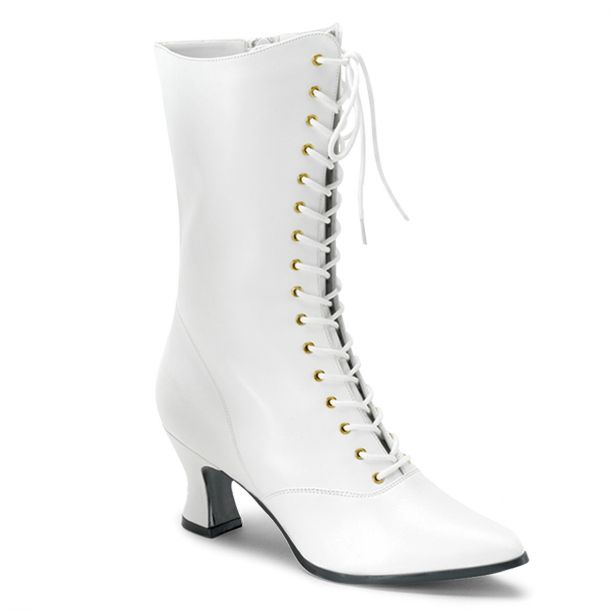 Ankle Boots VICTORIAN-120 - White
