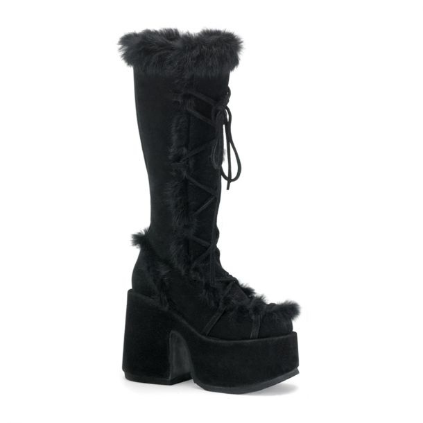 Knee Boot CAMEL-311 - Black