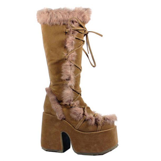 Knee Boot CAMEL-311 - Camel