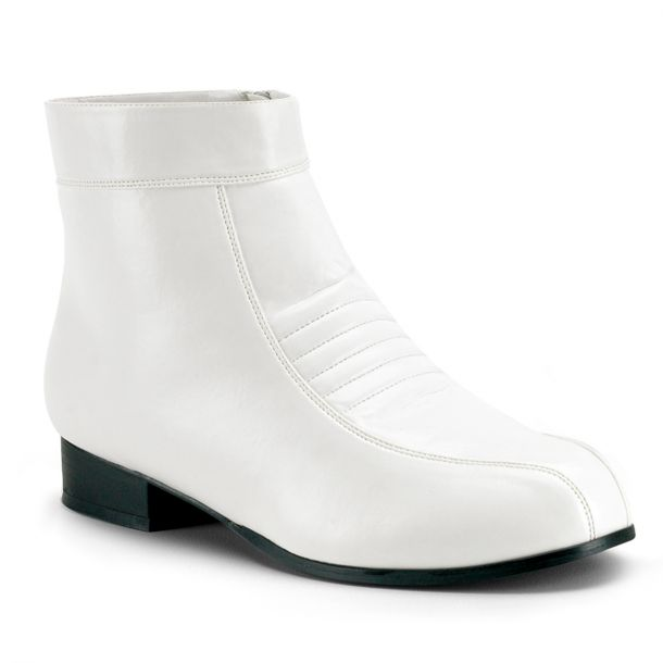 Men Ankle boots PIMP-50 - White