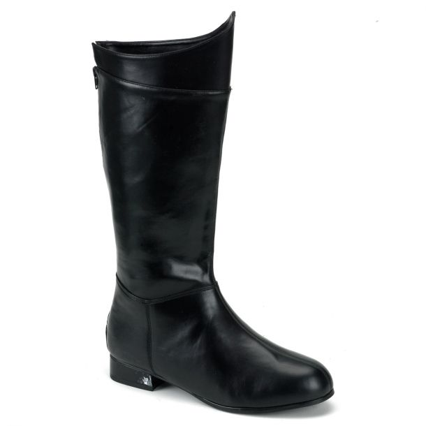 Men Boots HERO-100 - Black
