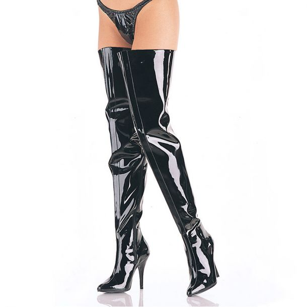Crotch Boots SEDUCE-4010 - Black