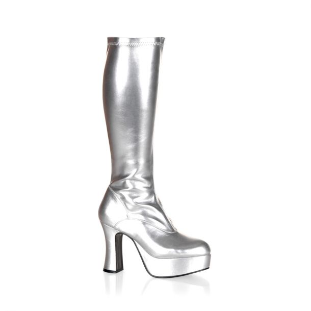 Plateaustiefel EXOTICA-2000 : Silber*
