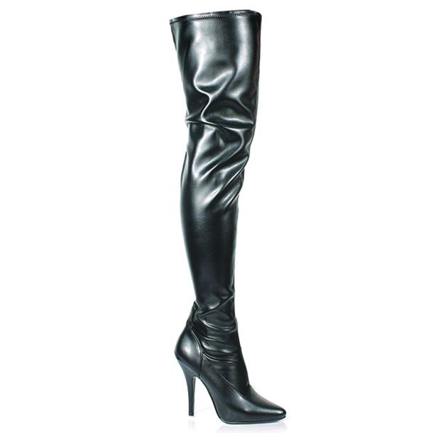 Overknee Boot SEDUCE-3000 : PU Black*