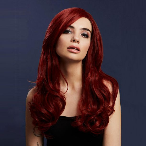 Longhair Wig KHLOE - Ruby Red*