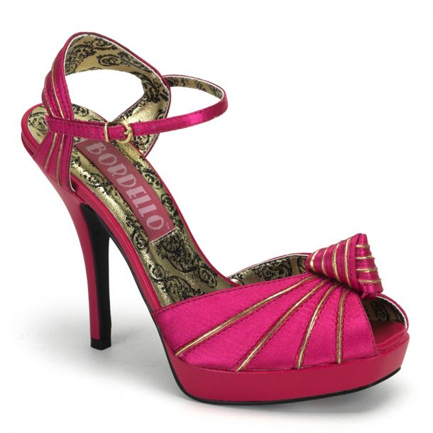 High-Heeled Sandal PREEN-16 - Fuchsia