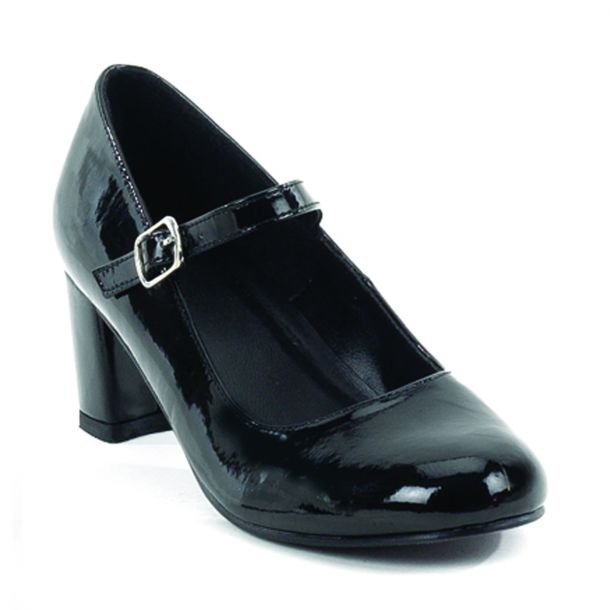 Mary Janes SCHOOLGIRL-50 : Black*