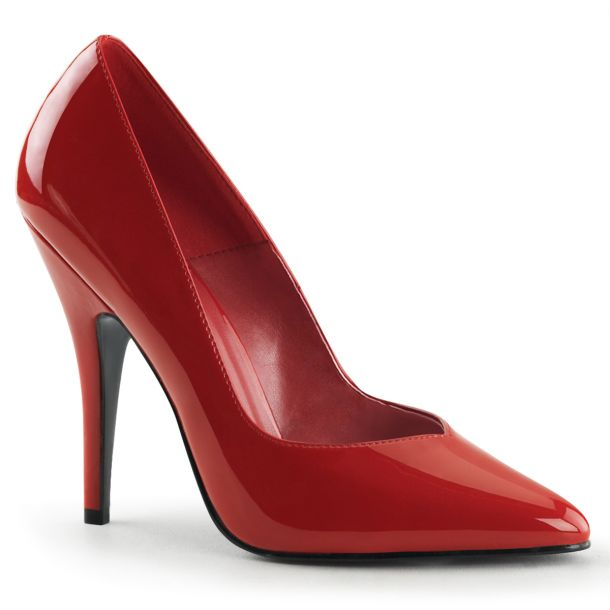 Pumps SEDUCE-420V - Patent Red