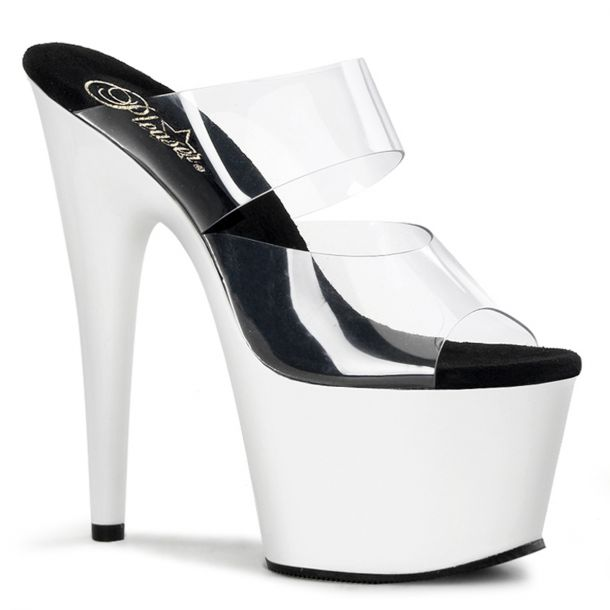 Platform High Heels ADORE-702UV - Neon White
