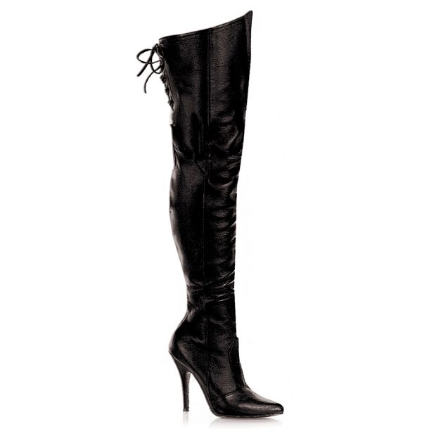 Overknee Boot LEGEND-8899 - Leather Black