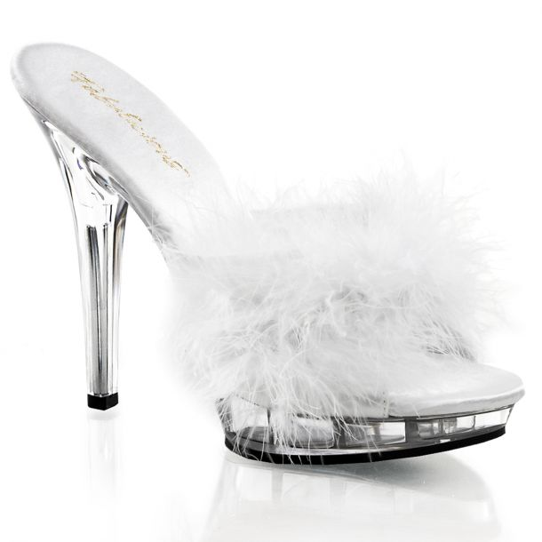Slipper LIP-101-8 - White/Clear