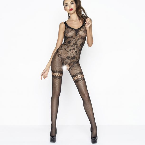 Fishnet Bodystocking Crotchless BS045 - Black*