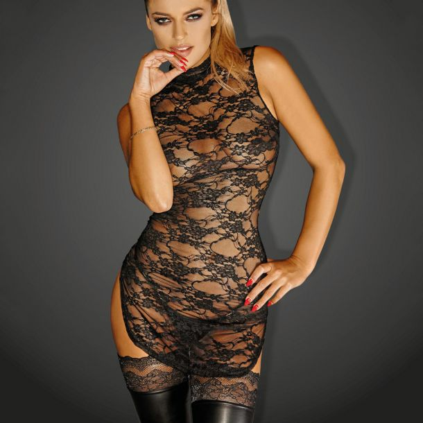 Lace Mini Dress DIVALIOUS DRESS