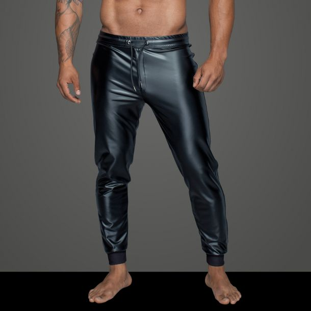 Power Wet Look Treggings H063