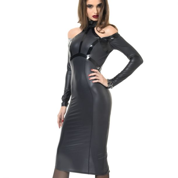 Backless Wetlook Dress CHIARA*