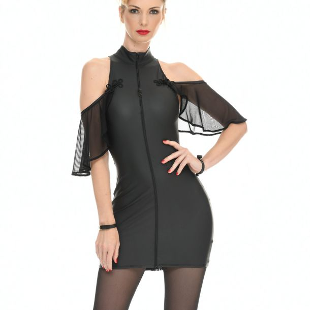 Neoprene Mini Dress - FLORENCE*