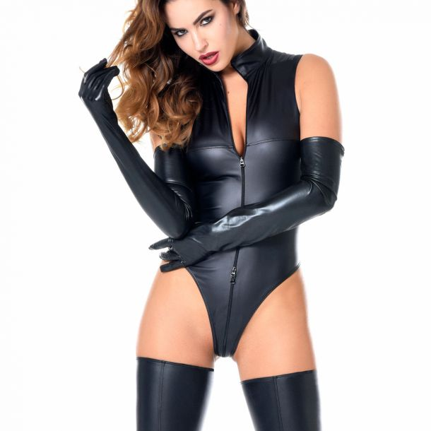 MANON Wetlook Body - Black