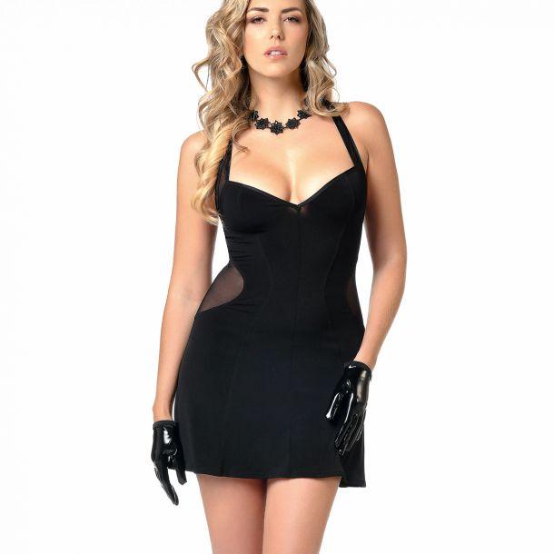 Sleveless Mini Dress PENNY - Black