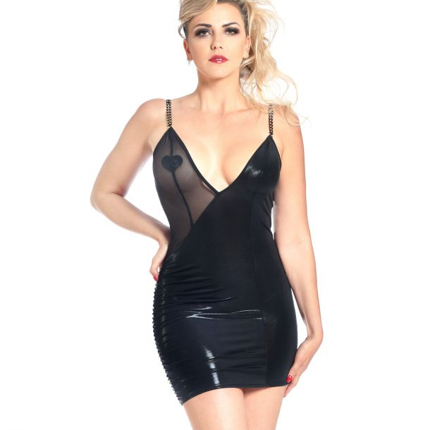 Minidress CLERA - Black*