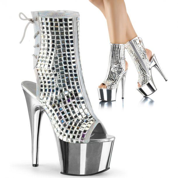 Platform Ankle Boots ADORE-1018DBM