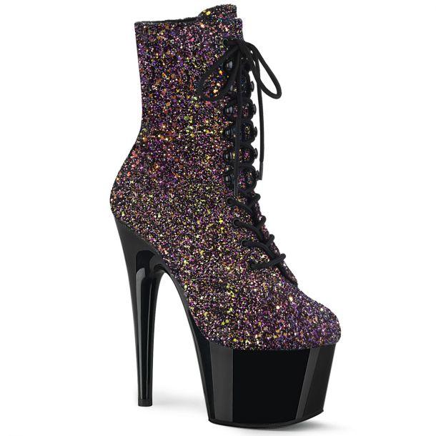 Platform Ankle Boots ADORE-1020LG - Purple