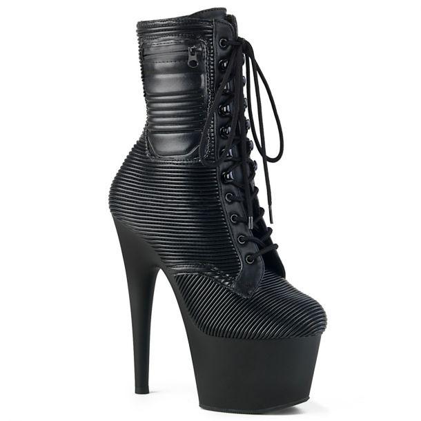 Platform Ankle Boots ADORE-1020PK - Black