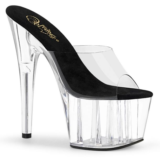 Platform Slides ADORE-701 - Black/Clear*