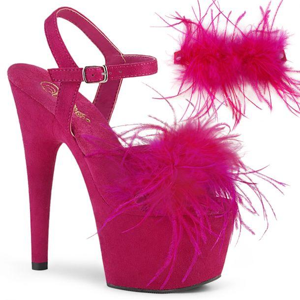 Platform High Heels ADORE-709F - Hot Pink