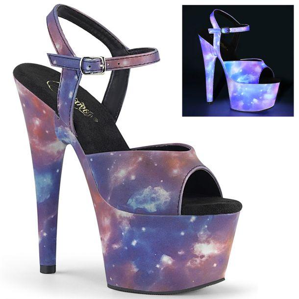 Platform Heels ADORE-709REFL - Galaxy
