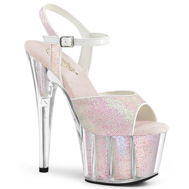 Platform High Heels ADORE-710G - Opal Pink