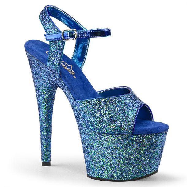 Platform High Heels ADORE-710LG - Blue
