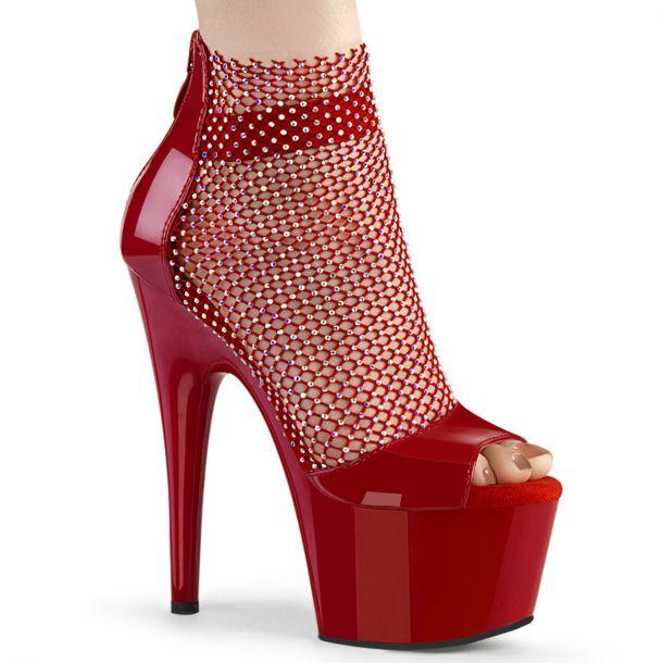 Platform Heels ADORE-765RM - Red
