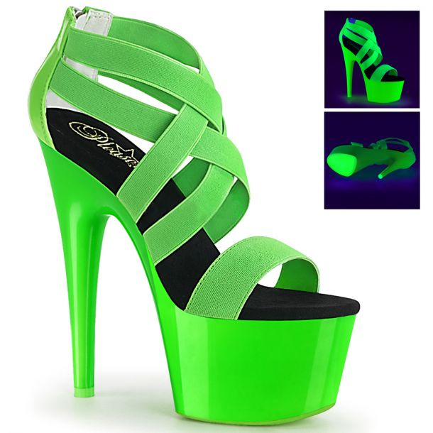 Platform High Heels ADORE-769UV - Neon Green*