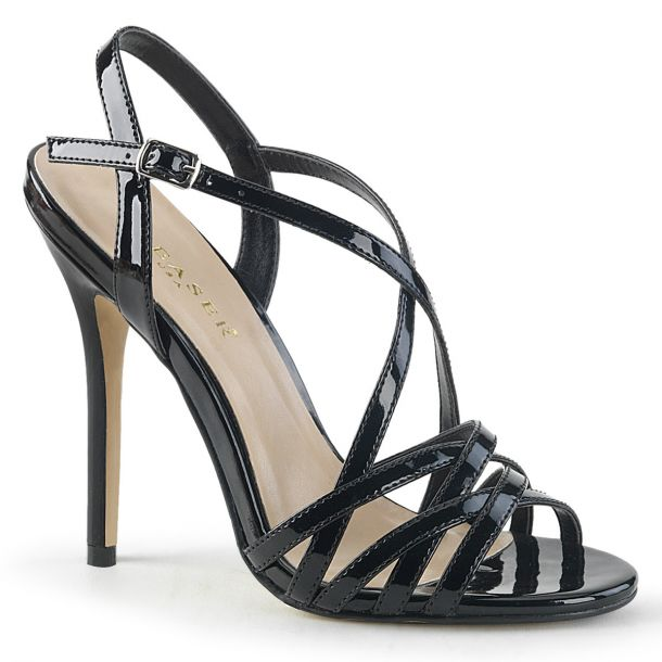 High-Heeled Sandal AMUSE-13 - Black