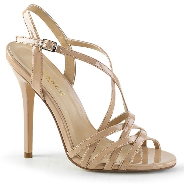 High-Heeled Sandal AMUSE-13 - Nude*